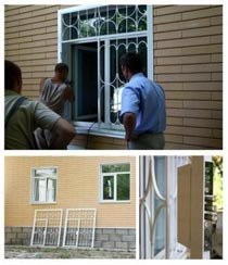 Установка решеток в Минусинске